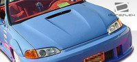 1992-1995 Honda Civic 2DR / HB Duraflex Spyder 2 Hood -