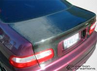 1992-1995 Honda Civic 2DR Carbon Creations Carbon Fiber OEM Trunk -