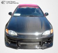 1992-1995 Honda Civic 4DR Carbon Creations Carbon Fiber OEM Hood -