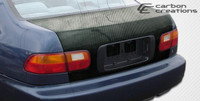 1992-1995 Honda Civic 4DR Carbon Creations Carbon Fiber OEM Trunk -