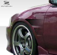 1992-1995 Honda Civic 4DR Duraflex GT Concept Fenders - 2 Pieces