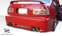 1992-1995 Honda Civic 4DR Duraflex R34 Body Kit - 4 Pieces