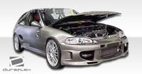 1992-1995 Honda Civic 4DR Duraflex Showoff 3 Body Kit - 4 Pieces