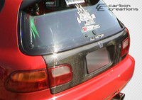 1992-1995 Honda Civic HB Carbon Creations Carbon Fiber OEM Trunk -