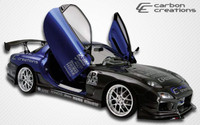 1993-1997 Mazda RX-7 Carbon Creations Carbon Fiber C-1 Style Kit