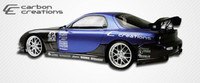 1993-1997 Mazda RX-7 Carbon Creations Carbon Fiber C-2 Style Sideskirts