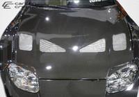 1993-1998 Toyota Supra Carbon Creations Carbon Fiber TD3000 Wide Body Hood -