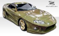 1993-1998 Toyota Supra Duraflex Conclusion Wide Body Front Fenders - 2 Pieces