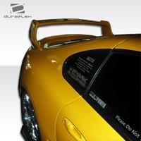 1993-1998 Toyota Supra Duraflex TD3000 Wide Body Rear Fender Flares - 2 Pieces