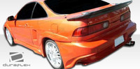 1994-2001 Acura Integra 2DR Duraflex Millenium Wide Body Rear Fender Flares - 2 Pieces