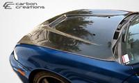 1995-1996 Nissan 240SX Carbon Creations Carbon Fiber Vader Hood -