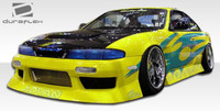 1995-1996 Nissan 240SX Duraflex Type U Body Kit - 4 Pieces