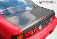 1995-1998 Nissan 240SX Carbon Creations Carbon Fiber OEM Trunk -