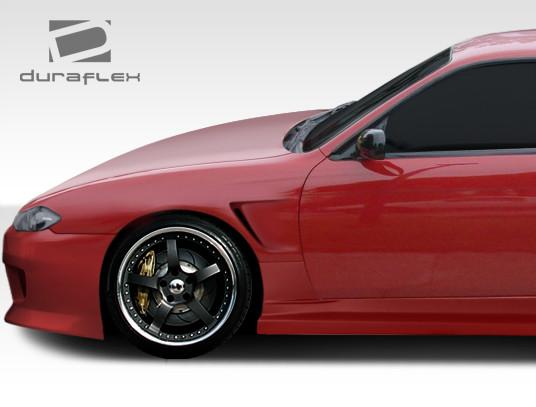 1995-1998 Nissan 240SX Duraflex O-Design S15 Conversion Fenders
