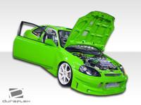 1996-1998 Honda Civic HB Duraflex Buddy Body Kit - 4 Pieces