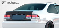 1996-2000 Honda Civic 2DR Carbon Creations Carbon Fiber OEM Trunk -