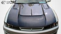 1997-1998 Nissan 240SX Carbon Creations Carbon Fiber B-Road Hood