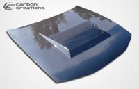 1997-1998 Nissan 240SX Carbon Creations Carbon Fiber D-1 Hood