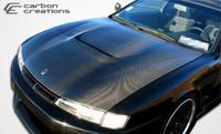 1997-1998 Nissan 240SX Carbon Creations Carbon Fiber M-1 Sport Hood