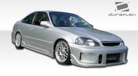 1999-2000 Honda Civic 2DR Duraflex JDM Buddy Body Kit - 4 Pieces