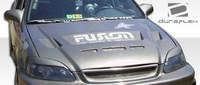 1999-2000 Honda Civic Duraflex Predator Hood -