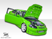 1999-2000 Honda Civic HB Duraflex Buddy Body Kit - 4 Pieces