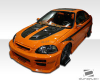 1999-2000 Honda Civic HB Duraflex R34 Body Kit - 4 Pieces