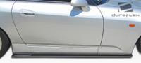 2000-2009 Honda S2000 Duraflex A-Sport Side Skirt Splitters