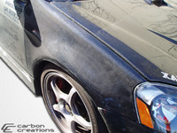 2002-2006 Acura RSX Carbon Creations Carbon Fiber OEM Fenders - 2 Pieces
