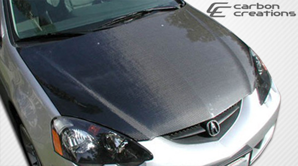 Furious Customs Acura RSX Carbon Creations Carbon Fiber - Acura rsx carbon fiber hood