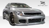 2003-2004 Infiniti G Sedan G35 4DR Duraflex GT Competition Body Kit - 4 Pieces