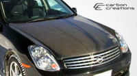 2003-2004 Infiniti G Sedan G35 Carbon Creations Carbon Fiber OEM Hood -