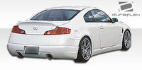 2003-2006 Infiniti G Coupe G35 Polyurethane Wings Style Body Kit - 4 Pieces