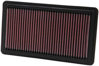 K&N Replacement Air Filter - Honda Civic Si 2.0L-L4, 06-10