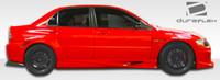2003-2006 Mitsubishi Evolution 8 / Evolution 9 Duraflex VT-X Style Sideskirts