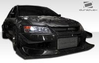 2003-2006 Mitsubishi Evolution 8 / Evolution 9 Duraflex VT-X Style Body Kit w/ fenders & canards (12 pieces)