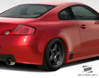 2003-2007 Infiniti G Coupe G35 2DR Duraflex GT500 Wide Body Rear Fenders - 2 Pieces