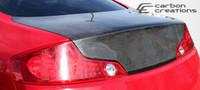 2003-2007 Infiniti G Coupe G35 Carbon Creations Carbon Fiber OEM Trunk -