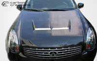 2003-2007 Infiniti G Coupe G35 Carbon Creations Carbon Fiber Type J Hood -