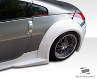 2003-2008 Nissan 350Z Duraflex B-2 Wide Body Rear Fender Flares
