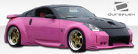 2003-2008 Nissan 350Z Duraflex Vader 3 Wide Body Body Kit - 8 Pieces