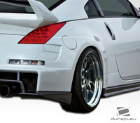 2003-2009 Nissan 350Z Duraflex AM-S Wide Body Rear Fender Flares