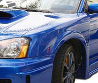 2004-2005 Subaru Impreza WRX STI 4DR Duraflex C-GT Wide Body Front Fenders
