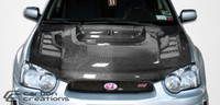2004-2005 Subaru Impreza WRX STI Carbon Creations Carbon Fiber C-1 Hood