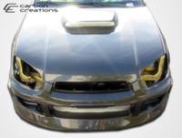 2004-2005 Subaru Impreza WRX STI Carbon Creations Carbon Fiber STI Hood -