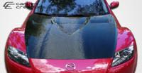 2004-2008 Mazda RX-8 Carbon Creations Carbon Fiber GT Concept Hood