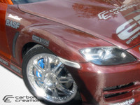 2004-2008 Mazda RX-8 Carbon Creations Carbon Fiber OEM Fenders