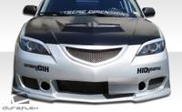 2004-2009 Mazda 3 4DR Duraflex Evo Hood -