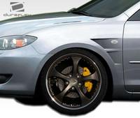 2004-2009 Mazda 3 4DR Duraflex GT Concept Fenders - 2 Pieces