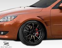 2004-2009 Mazda 3 HB Duraflex GT Concept Fenders - 2 Pieces